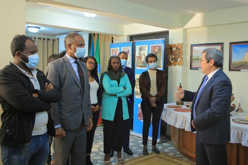 哈驻埃塞俄比亚大使馆举办研讨会纪念阿拜和阿尔-法拉比