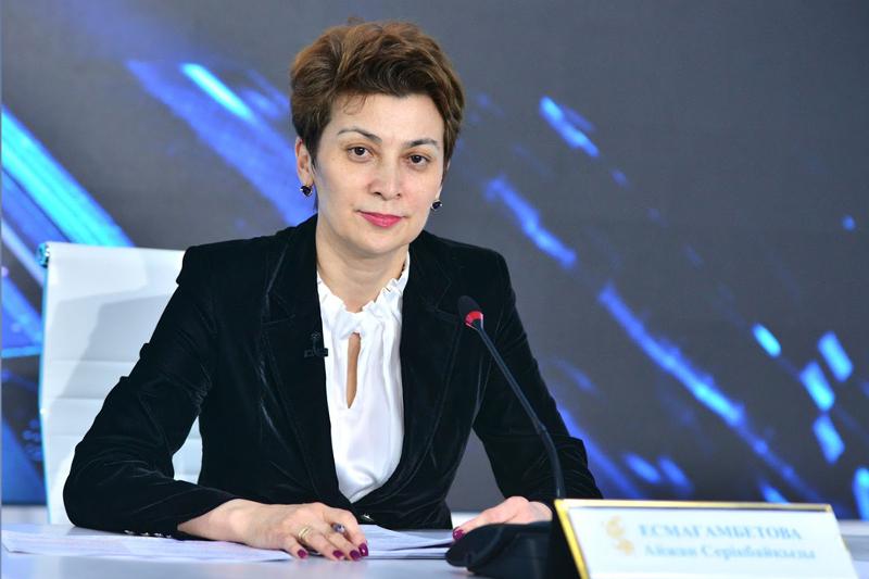 Айжан Есмагамбетова назначена председателем Комитета санэпидконтроля Минздрава РК