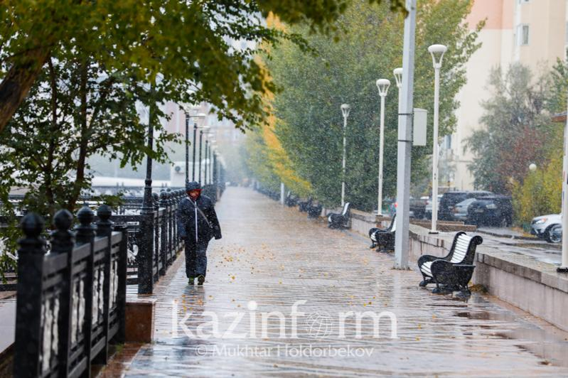 Scattered showers to douse W and E Kazakhstan