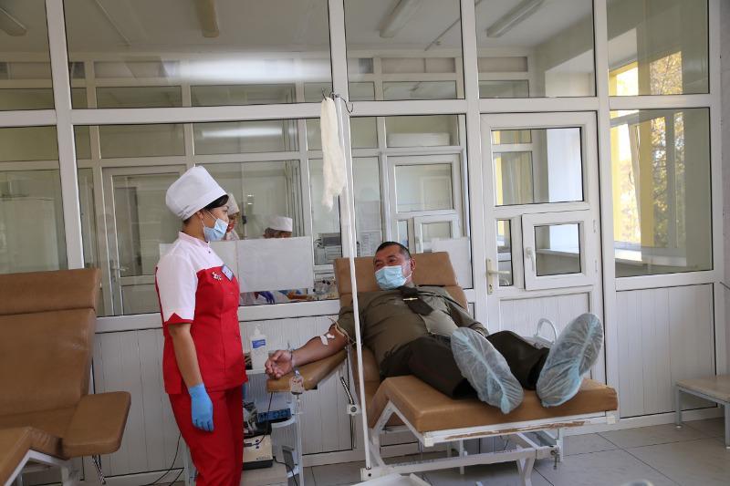50 спасателей стали донорами крови в ЗКО