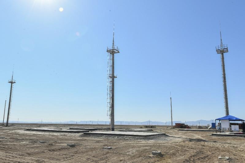 Солнечную электростанцию запустили в Туркестанской области