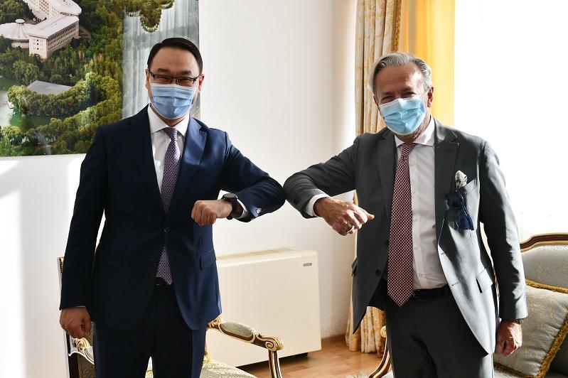 副外长会见国际原子能机构副总干事阿帕罗