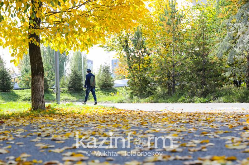 Weather without precipitation forecast for Kazakhstan on Thursday