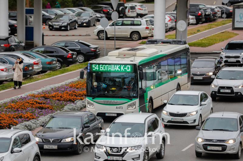 18 qazan kúni elordada avtobýs júrmeıdi