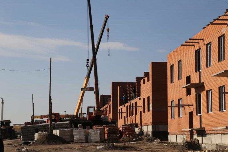Масштабное строительство жилья идет в Карагандинской области