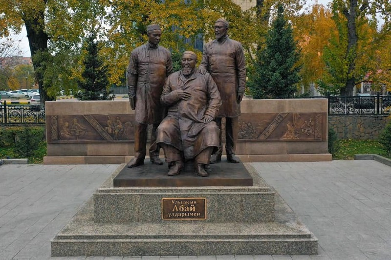 Tokayev attends opening of Abai and His Sons statue in Semey