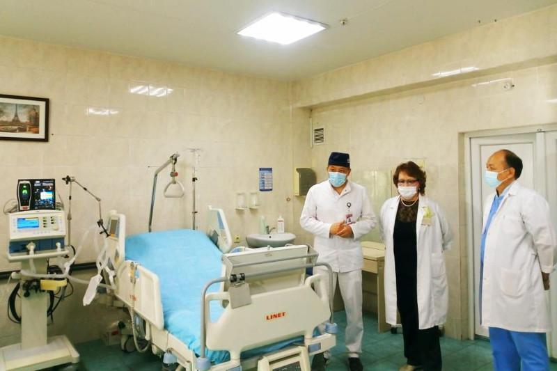 Центр экстракорпоральной детоксикации открыт на базе городской больницы в Алматы