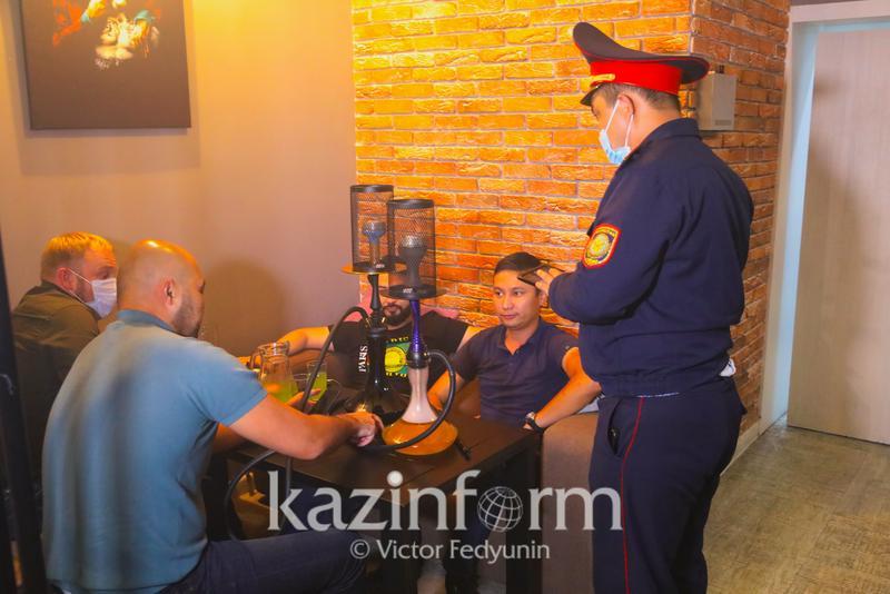 Объекты - злостные нарушители карантинного режима назвали в Нур-Султане