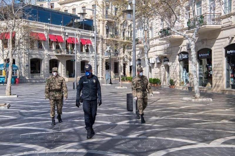 Ограничения из-за коронавируса вводят в Азербайджане