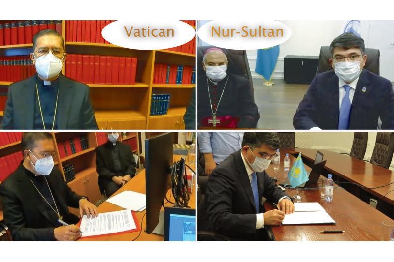 Нұрсұлтан Назарбаев орталығы Ватикандағы Папа Кеңесімен меморандумға қол қойды