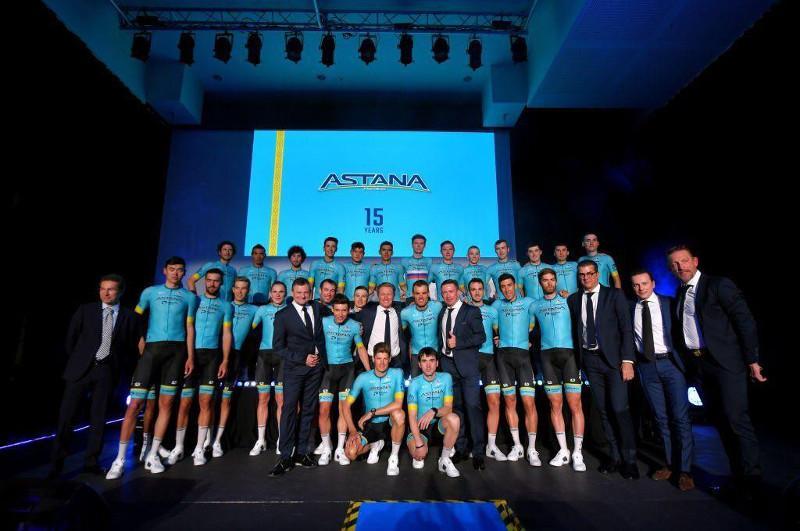 Велокоманда «Астана» представила состав на супермногодневку «Вуэльта Испании»