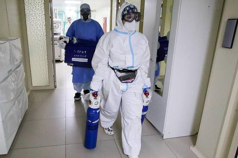 Over 15,000 cases of COVID-19 infection detected in Russia, highest during pandemic