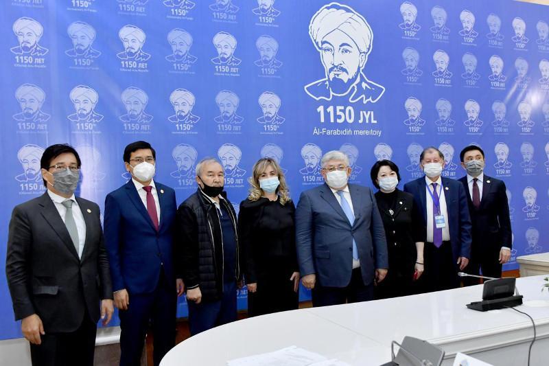 Крымбек Кушербаев принял участие в торжественных мероприятиях по случаю 1150-летия аль-Фараби