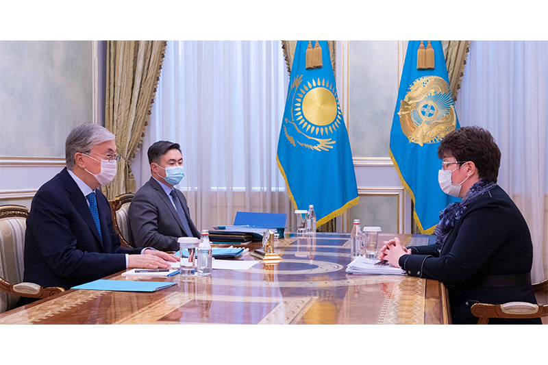 Kazakh President receives Accounts Committee head