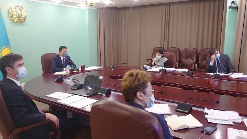 Алексей Цой рассказал о мерах против коронавируса членам Нацсовета