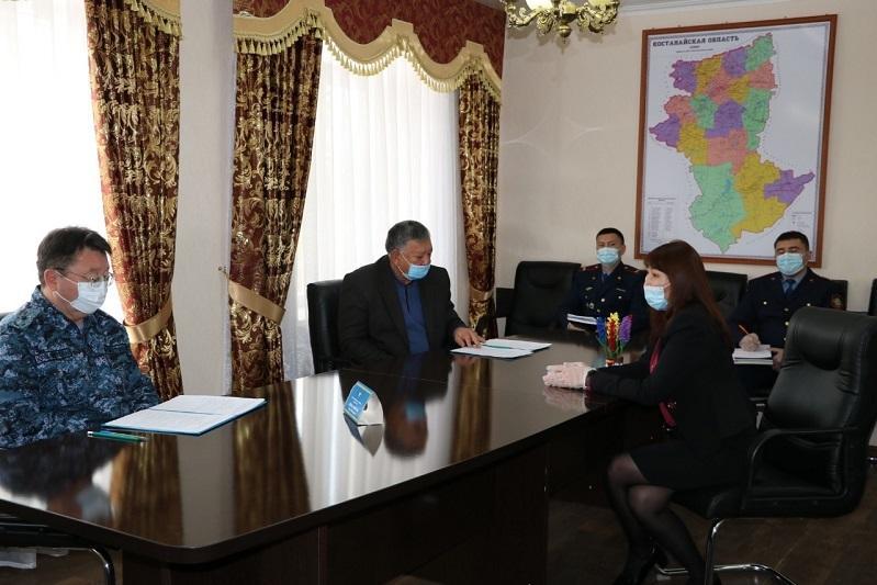 Глава ДП Костанайской области провел прием граждан в приграничном Житикаринском районе