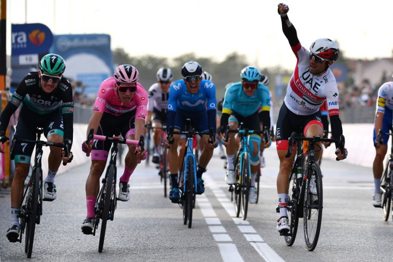 Giro d´Italia, Stage 13: Fuglsang sprinted to 7th place in Monselice