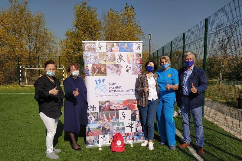 Спортивные секции для «особенных» детей впервые открылись в Алматы