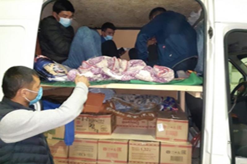 Пограничники задержали граждан Кыргызстана за попытку незаконно попасть в Казахстан