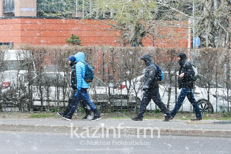 Storm alert in place for 4 rgns of Kazakhstan