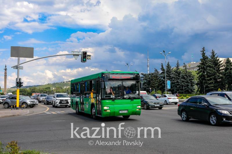 Схема движения некоторых автобусов изменена в Алматы