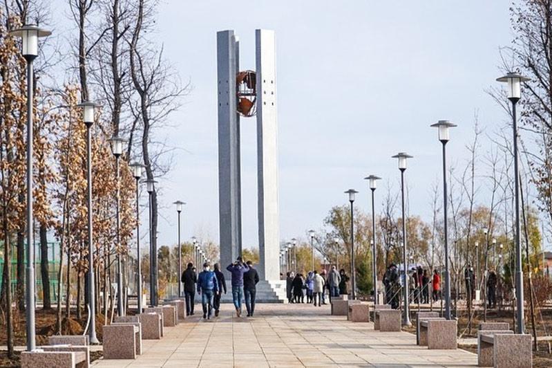 Nur-Sultanda aýmaǵy 16 gektar bolatyn jańa saıabaq ashyldy