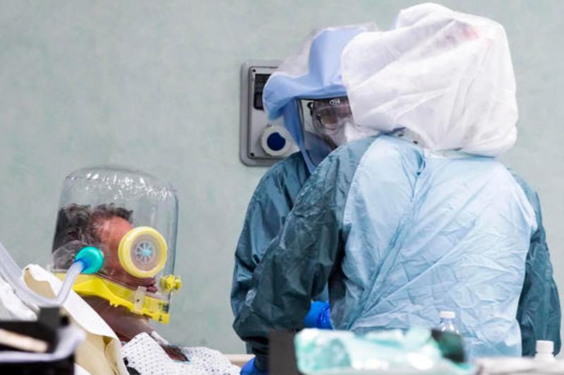 意大利单日新增冠状病毒感染病例数破记录