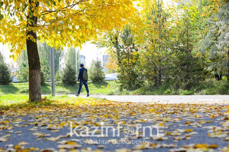 Warm spell forecast for Kazakhstan