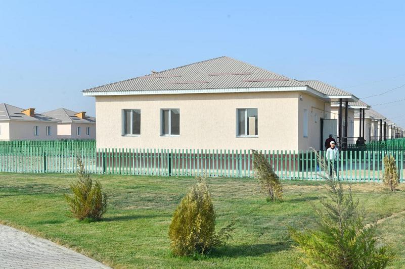386 new houses built in Maktaaral