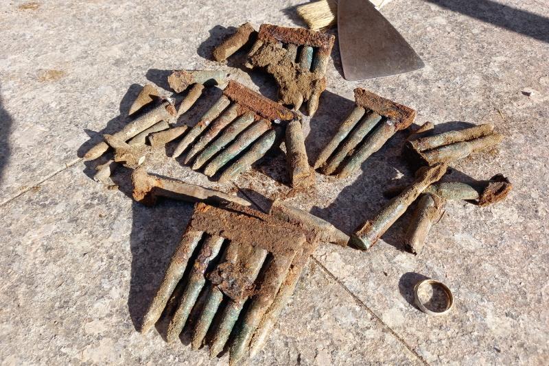 Патроны времен гражданской войны найдены в центре Семея