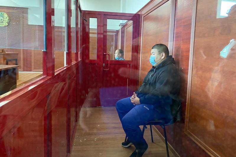Виновник ДТП на блокпосту Алматы выступил с последним словом в суде