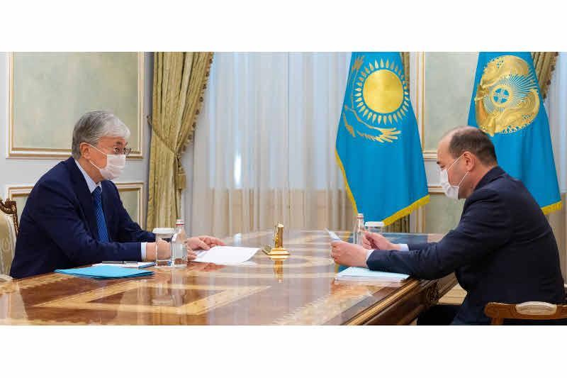 Kazakh President receives Prosecutor General