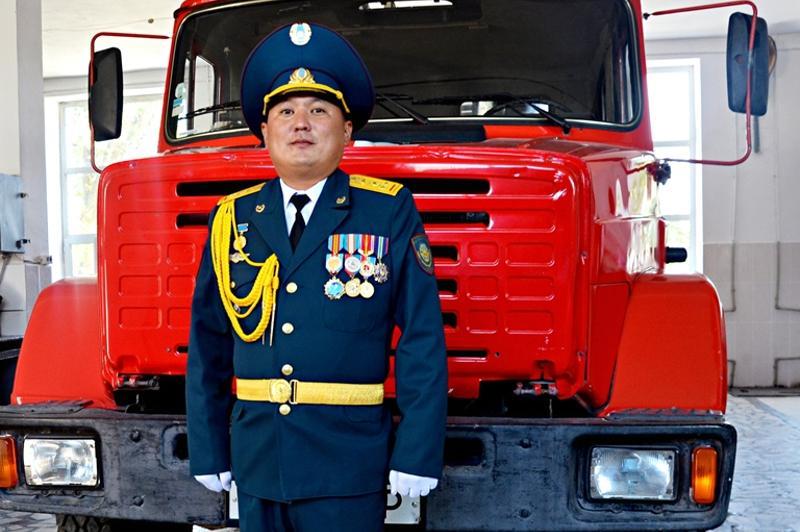 Пожарная команда должна действовать как единый механизм - Канат Аталиков