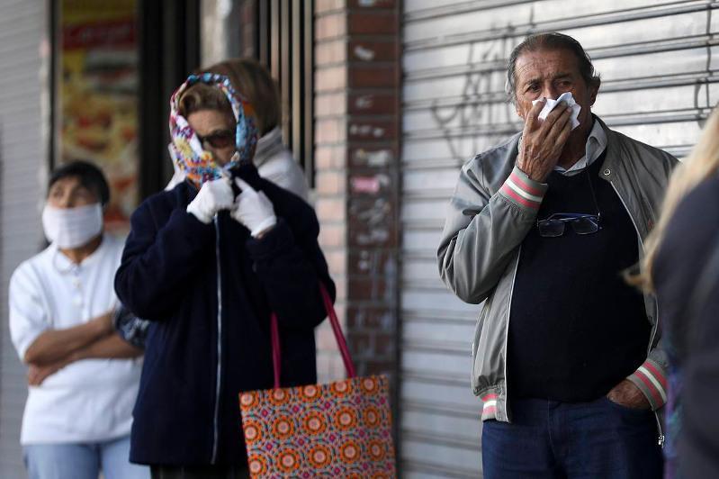 阿根廷成为全球第五个新冠确诊病例破百万的国家
