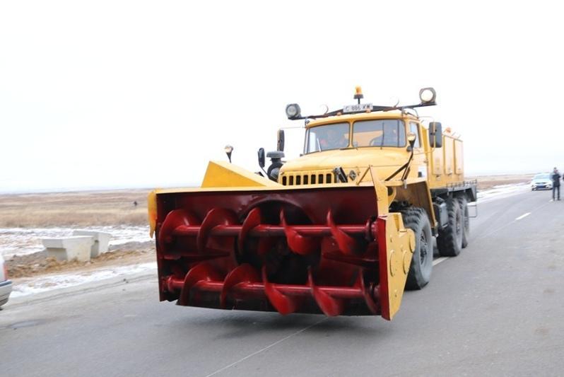 Более 500 снегозависимых участков автодорог возьмут на особый контроль в Карагандинской области