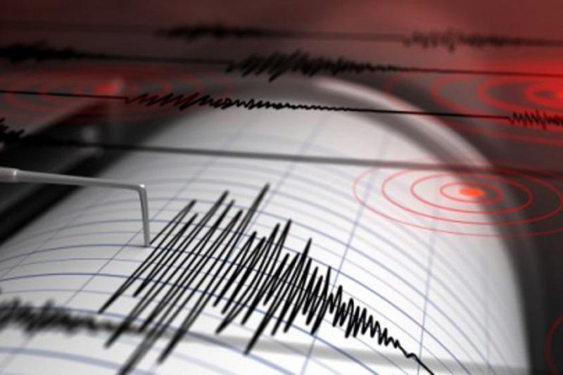 Землетрясение произошло в386 км от Алматы