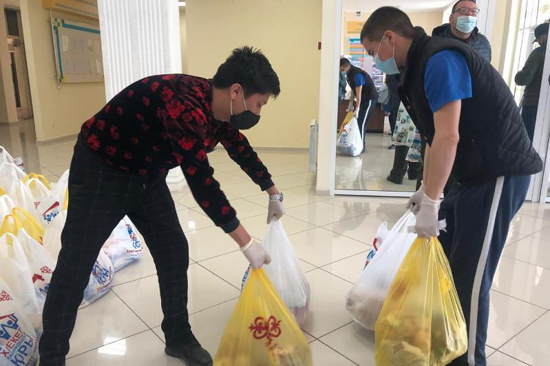 Караван милосердия стартовал в Уральске