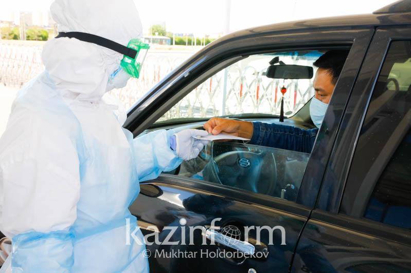 Qazaqstanǵa avtokólik arqyly kirgen 122 adamnan koronavırýs anyqtaldy – DSM
