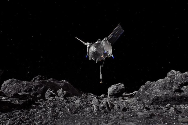 美探测器完成对小行星贝努的采样