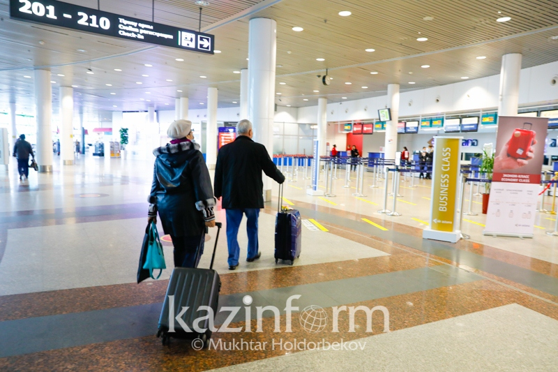 2,000 air passengers put under quarantine in Kazakh capital