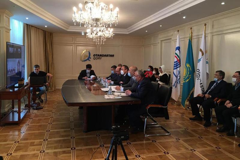 Малый курултай казахов Узбекистана прошел онлайн