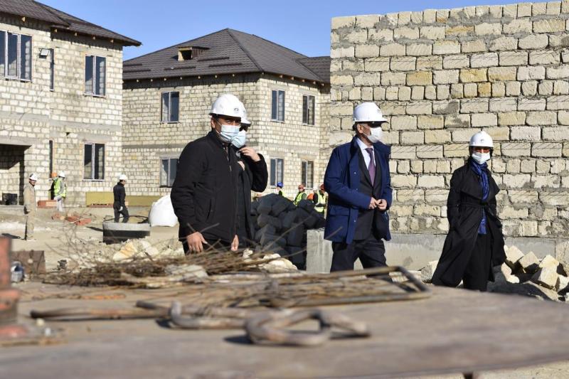 Атырауда отбасылық үлгідегі балалар ауылы салынып жатыр