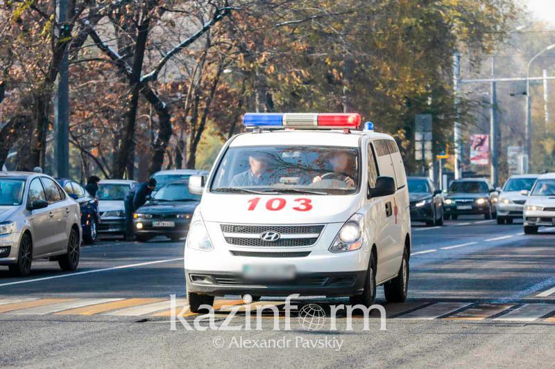 Тело женщины нашли на месте пожара в многоэтажке Алматы
