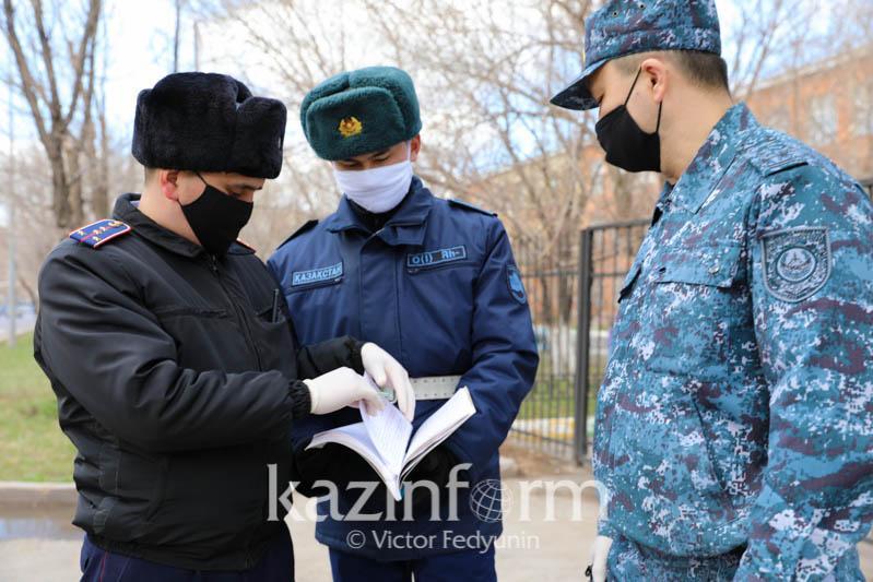 Той на 80 человек прервали полицейские в Нур-Султане