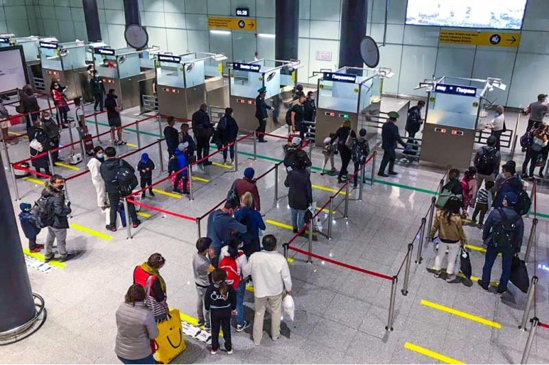 飞抵哈萨克斯坦的153名国际旅客因无PCR检测证明被隔离