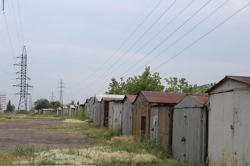 На месте демонтированных гаражей обустроят сквер в Петропавловске