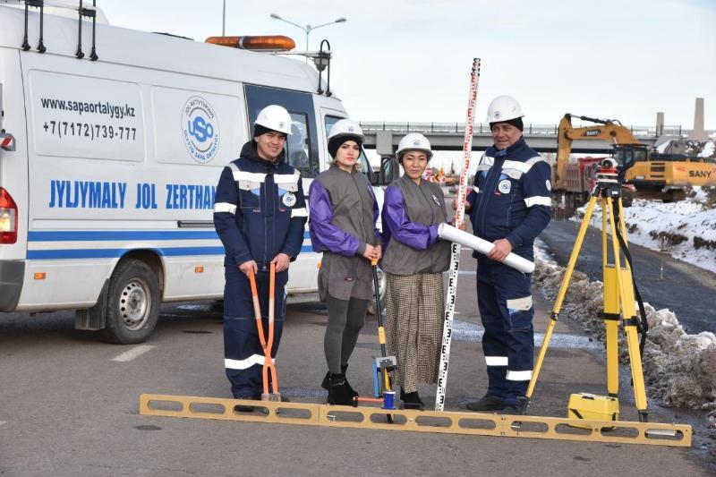 哈萨克斯坦已完成1万公里国家公路的评估检测工作