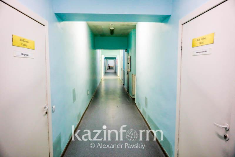 Алматы облысында 50 жыл жөндеу көрмеген аурухана жөнделіп жатыр