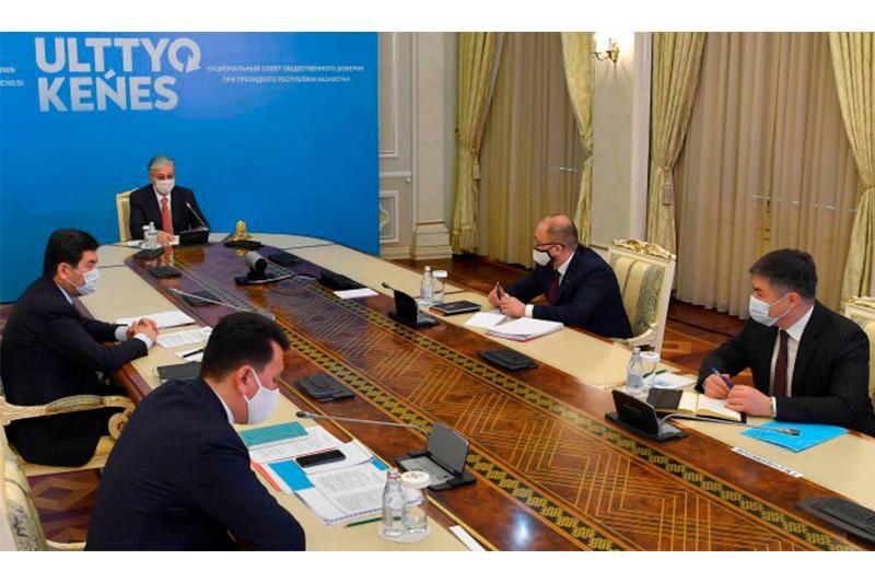 Касым-Жомарт Токаев принял участие в четвертом заседании Национального совета общественного доверия