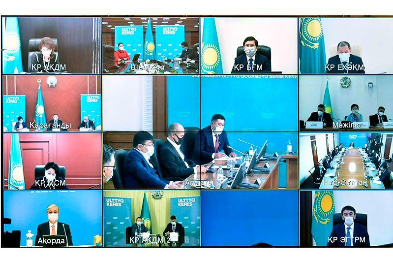 Институт государства проходит испытание на прочность - Касым-Жомарт Токаев